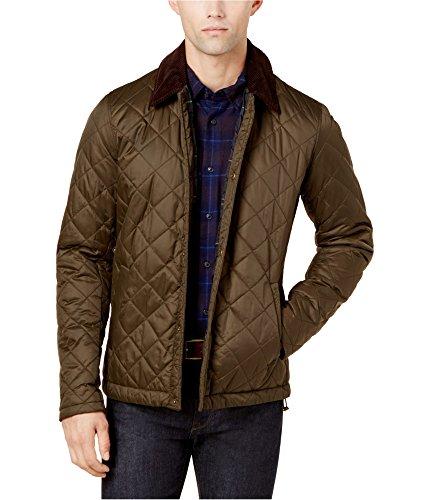 Barbour Fleece Jacket - Barbour Mens Holme Jacket Green 2XL