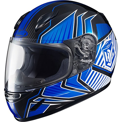 HJC Redline Youth Boys CL-Y Street Motorcycle Helmet - MC-2 / Large (Redline 2 Cycle compare prices)