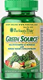 Puritan's Pride Green Source Multivitamin & Minerals-60 Caplets For Sale