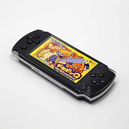 JXD 4.3 inch 8GB Handheld Portable Game Console Built in 1200+Real Video Games for gba/gbc/SFC/fc/SMD Games mp3/mp4/mp5/DV/DC Function (Black) by JXD (Image #3)