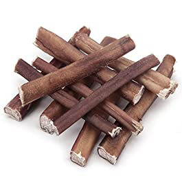GigaBite Odor-Free Bully Sticks– USDA & FDA Certified All Natural, Free Range Beef Pizzle Dog Treat – by Best Pet Supplies