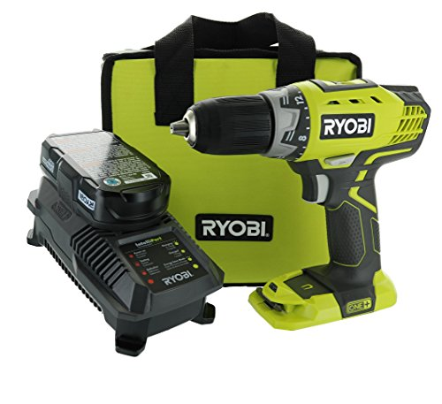 Ryobi P1811 One+ Compact Drill / Driver Kit (5 Piece Bundle: 1x P208 Drill / Driver Power Tool, 2x P102 18 Volt Battery, 1x P118 18 Volt Battery Charger, 1x Lime Green Ryobi Tool Bag) Review