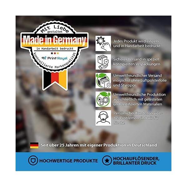 51X0sD1cuML Print Royal Camping Fußmatte mit lustigem Spruch - Happy Camper - Geschenkidee / Camping Zubehör / Campingmatte…