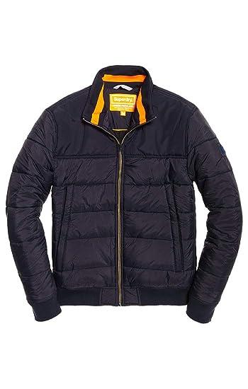 Superdry Herren Quilted International Jacket Mantel: Amazon