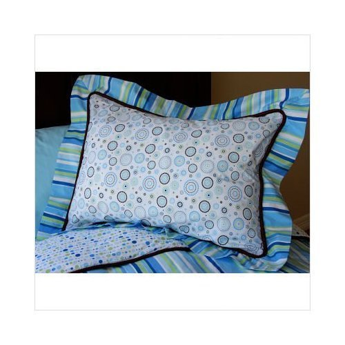 Caden Lane Classic Collection Bedding Classic Pillow Sham Blue