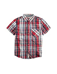 Levi's Big Boy's The Smith Short Sleeve Shirt