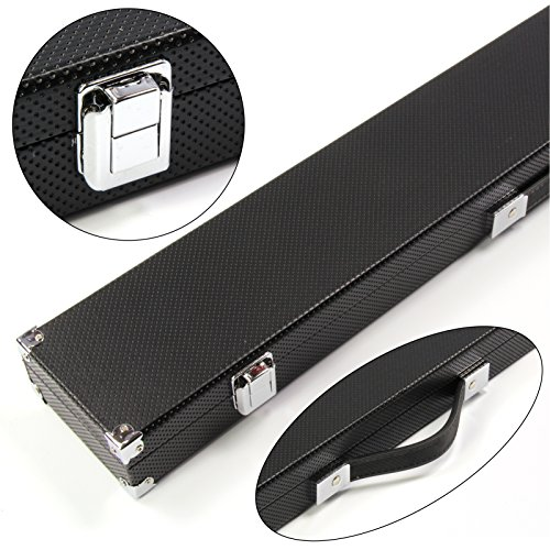 Jonny 8 Ball RISS Double Shaft Centre Joint Pool Cue Case - Holds 1 Butt 2 (Joint Extra Cue Shaft)