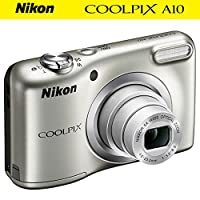 Deals on Nikon COOLPIX A10 16.1MP NIKKOR Glass Lens Camera Refurb