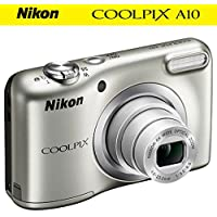 Nikon COOLPIX A10 16.1MP 5x Zoom NIKKOR Glass Lens...