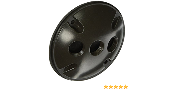 Morris 36834 Round 3 Holes Weatherproof Box Cover Electrical Outlet Boxes Industrial Scientific