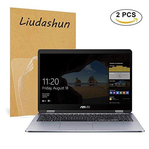 ASUS TP401NA TP410UA UX461UN Screen Protector,HD Clear LCD Anti-Scratch Anti-Fingerprints Guard Film For 14'' ASUS VivoBook Flip 14 TP401NA TP410UA / ZenBook Flip 14 UX461UN Laptop(2-pack) by Liudashun (Image #7)