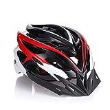 Gobike Outdoor Adult Safety Road/Mountain Bike Helmet Ultralight Ventilation 24-Hole Design With Cap Peak