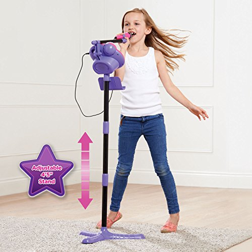 VTech Kidi Super Star Karaoke System with Mic Stand Amazon Exclusive by VTech (Image #2)