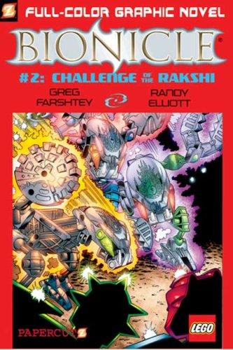 Read Online Bionicle #2: Challenge of the Rahkshi (Bionicle Graphic Novels) pdf epub