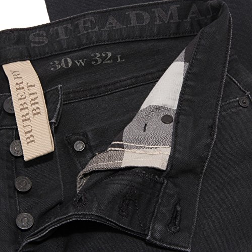 Black Denim 2103W Men Pantalone BRIT Burberry Nero uomo Jeans Trouser wd48YxqXx