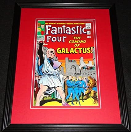 Fantastic Four #48 Beautiful Repro Cover Only w//Orig Ads 1st app Silver Surfer