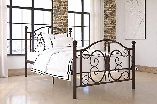 - DHP Bombay Twin Metal Bed in Bronze