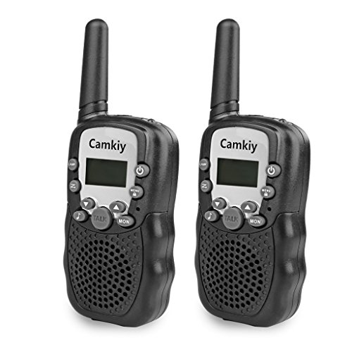 Handheld Outdoor Walkie Talkies 22 Channel FRS/GMRS 2 Way Radio Toy Phone for Kids Playing Games 2 Miles (Up to 3 Miles) (Band Playing In Halloween 2)