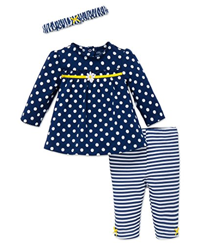 Little Me Baby Girls 3 Piece Tunic And Legging Set With