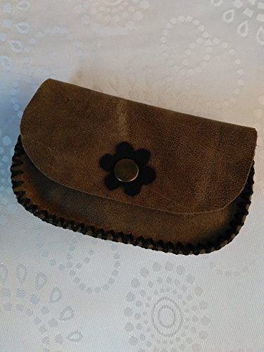 Handmade Leather Coin Pouch/Purse