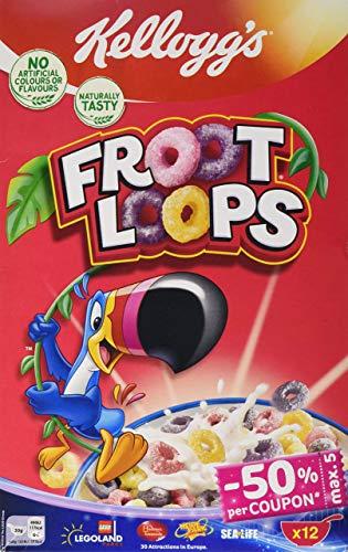 Kellogg's Froot Loops Cerealien | Einzelpackung | 375g