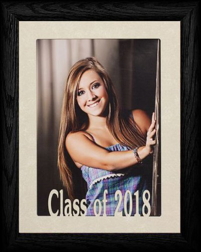 PersonalizedbyJoyceBoyce.com 5x7 Jumbo Class of 2018 Portrait Senior/Graduate School Photo Frame ~ BLACK Frame ~ Graduation - 2010 Graduation Gifts