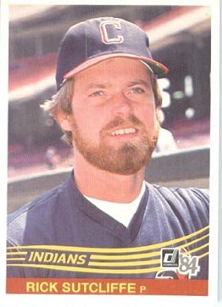 Amazoncom 1984 Donruss Baseball Card 338 Rick Sutcliffe New