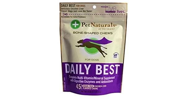 Pet Naturals Daily Best for Dogs (45 count) by Pet Naturals ...