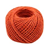 Hand Knitting Hemp Rope DIY Satin Ribbon Decorative Riband Twine D