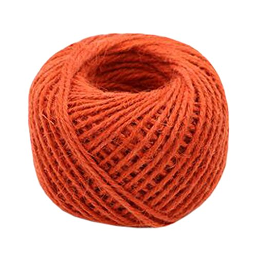 Hand Knitting Hemp Rope DIY Satin Ribbon Decorative Riband Twine D by Kylin Express