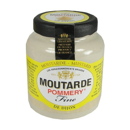 (Pommery Dijon Mustard Meaux Moutarde in Pottery Crock, 100g (3.5oz))