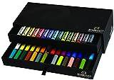 Rembrandt Soft Pastel Luxury 2-Drawer Set 45 Color (15 Full Sticks + 30 Half Sticks)