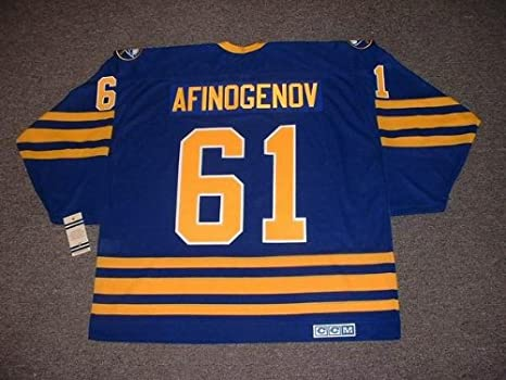 1b069a405 ... where to buy maxim afinogenov buffalo sabres ccm vintage throwback away hockey  jersey large clothing amazon
