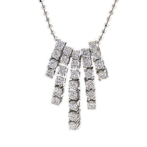 Cubic-zirconia Sterling Silver
