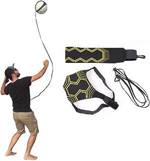OSAYES matériel - Volley - Ball sont réglables Aide à la Formation Pratique du Volley Solo Bras enroulement rotations - Taille