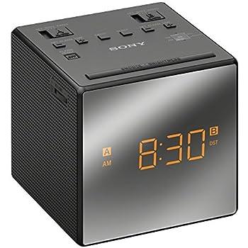Sony Clock Radio ICF-C1T, Black