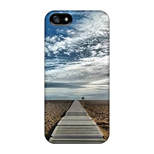First-class Case Cover For Iphone 5/5s Dual Protection Cover Beach02