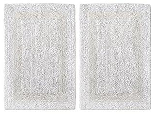 Reversible Step Out Bath Mat Rug Set Pure Cotton Super Soft Plush Absorbent
