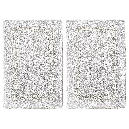 Reversible Cotton Bath Rug Amazon Com
