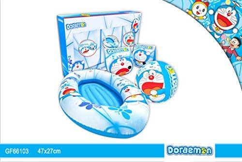 Gftoys GF66103A - Set barca, pelota y manguitos Doraemon: Amazon ...