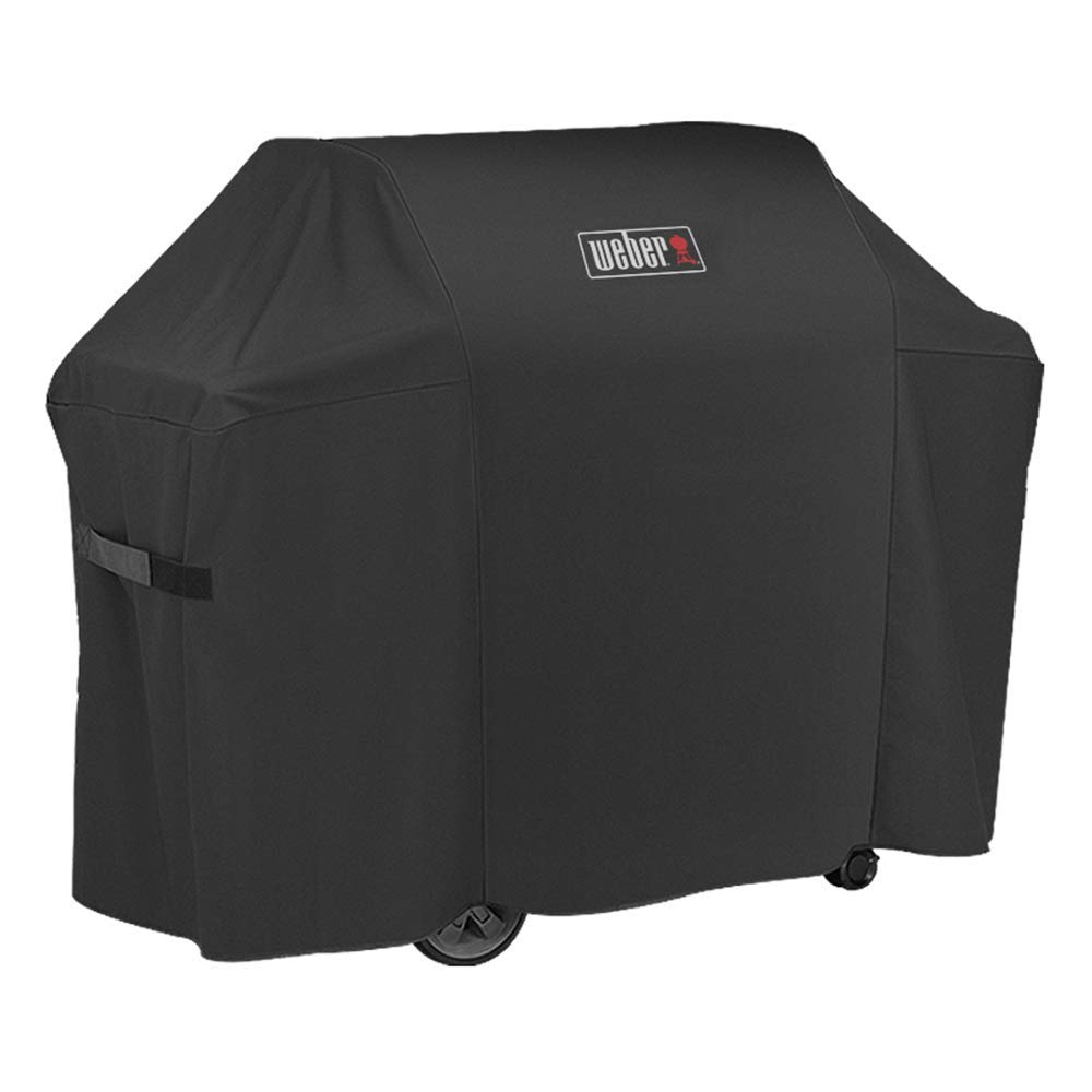 Weber7130 Grill Cover for Weber Genesis II 3 Burner Grill and Genesis 300 Series Gas Grills (58 X 25 X 45 inches) by Weber7130