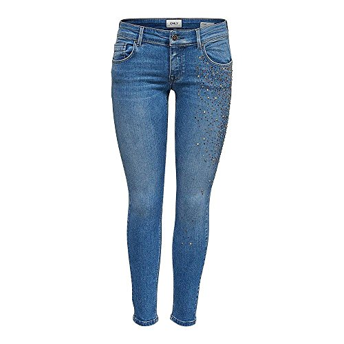 Jeans Pushup Onldylan Dnm Low Medium Denim Rea782 Ank 29 32 Blue q7IpAwF