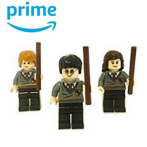 Harry, Hermione and Ronald Minifigures (Harry Potter Mini Figures)