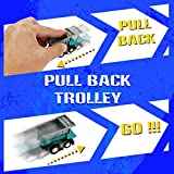 Construction Vehicles Fun Pull Back Car Toy for