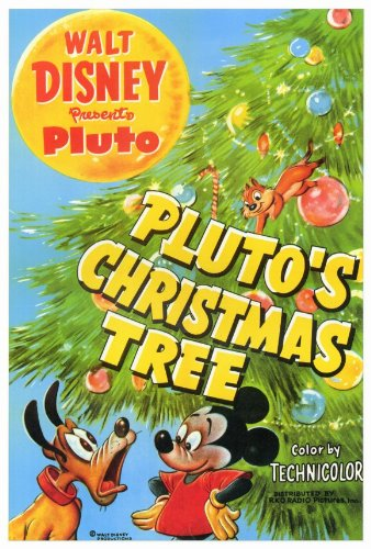 Pluto's Christmas Tree POSTER Movie (27 x 40 Inches - 69cm x 102cm) ( - Amazon.com: Pluto's Christmas Tree POSTER Movie (27 X 40 Inches