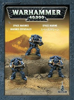 Games Workshop Space Marines Mini Set Box Set