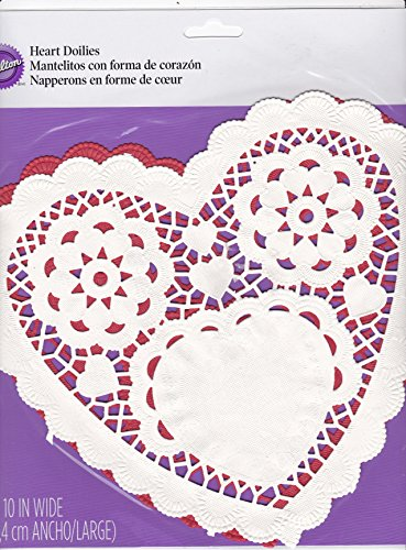 Red Heart Doily - 7