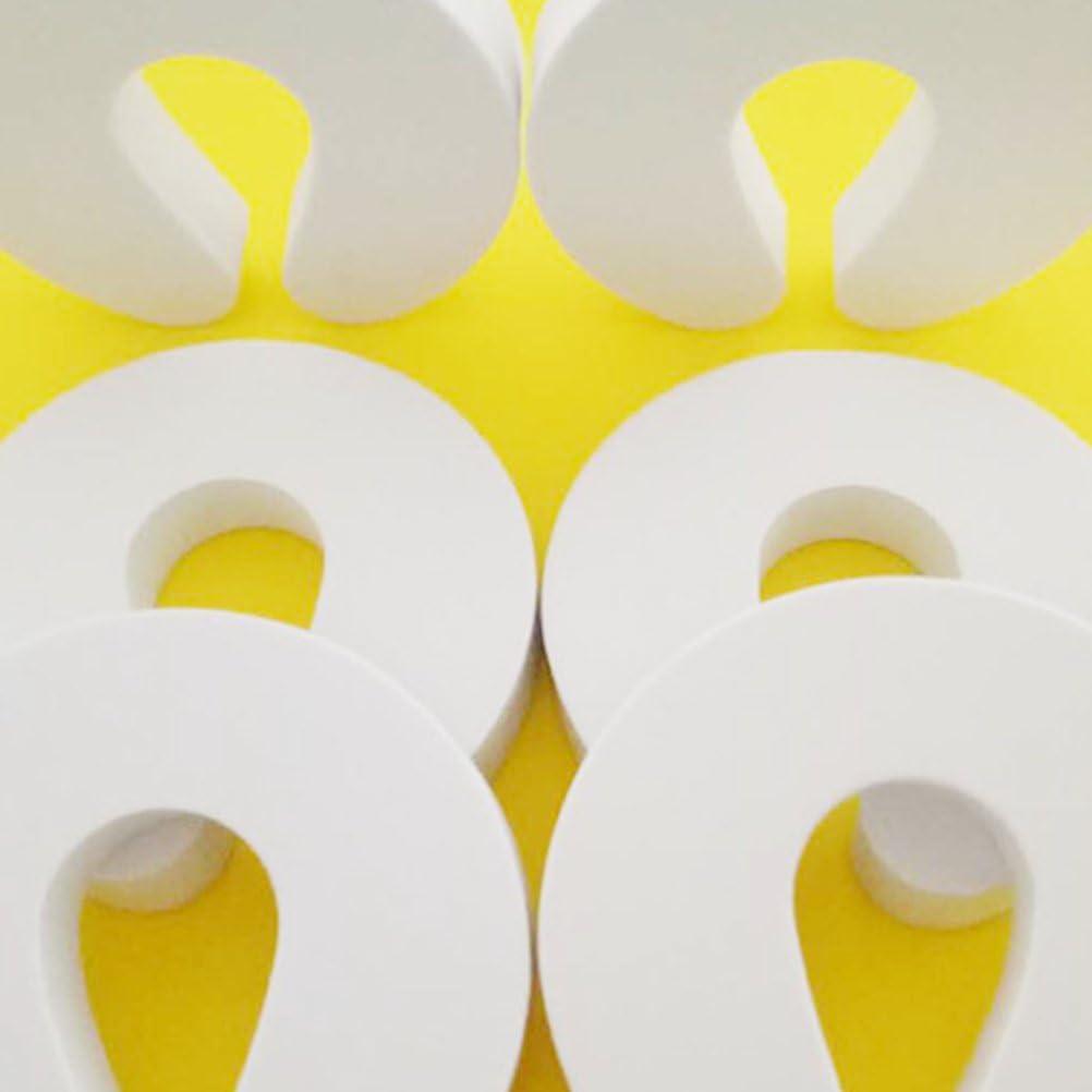paquet de 6 LIOOBO 12pcs prot/ège-doigts de porte Prot/ège-doigts de s/écurit/é enfant en mousse extra-douce