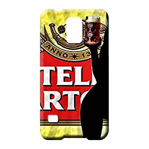 samsung galaxy s5 mobile phone carrying cases Snap-on cover Skin Cases Covers For phone stella artois