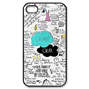 The Fault In Our Stars Personalized Cover Case for Iphone 4,4S,customized phone case318222